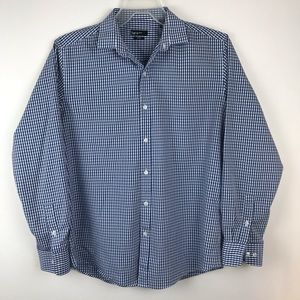 Bar III Button Down Long Sleeve Slim Fit Shirt